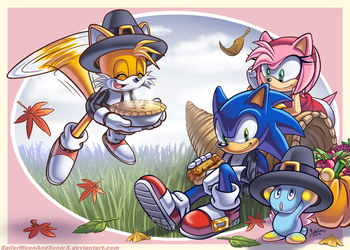 Happy Thanksgiving! by SailorMoonAndSonicX