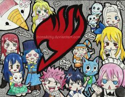 ~Fairy Tail~ by jhonakitty