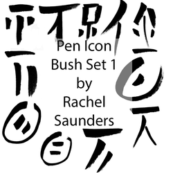 Pen icon set 1 by Random-Acts-Stock