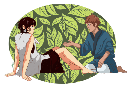 Prince Keith and Lance by NielsKolher
