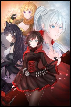 Rwby by Renren224