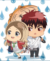 : [ Rainy days ] : KnB OC Chibi : by bakawomans
