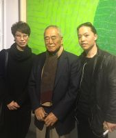 Master artist Hsiao Chin and Michael Andrew Law by michaelandrewlaw