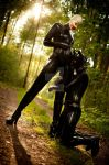Walking the dog IV by Rubberphilosophy