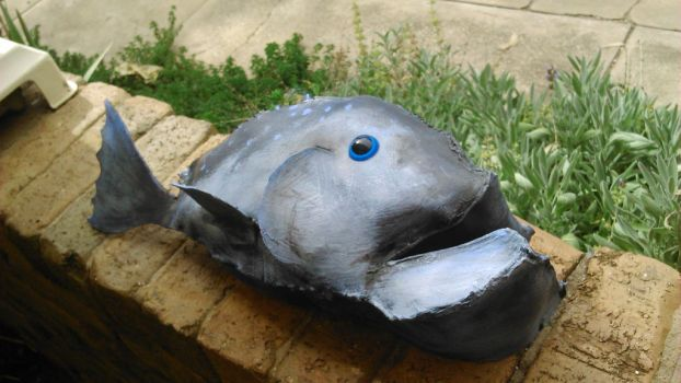 HTTYD COSPLAY prop- fish  by UnicornsInTheDryer
