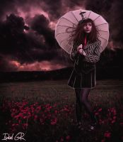 Poppy's Rain by LadyPingu