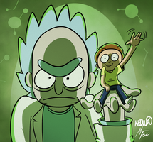 Rick and Morty Forever by WinWinStudios