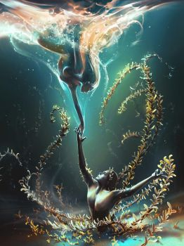 Underwater Ballet by AquaSixio