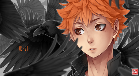 Haikyuu!! - baby crow by zero0810