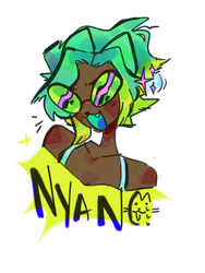 Nyani :3 by meatbutter