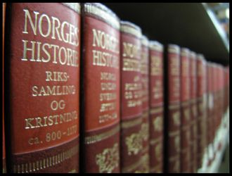 Norges historie by droemmaskin
