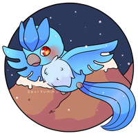 COMMISSION: Chibi Articuno by SeviYummy