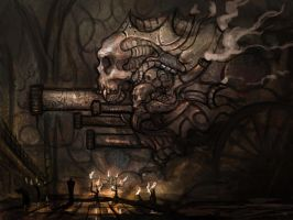 VAMPIRE STEAM ENGINE by Cinvira