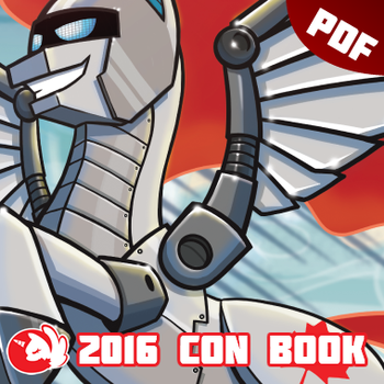 BronyCAN 2016 Convention Guide Book by Firestorm-CAN