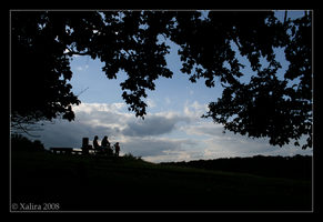 Wien - Looking from the hill by Xalira