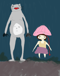 My neighbour totoro by Moist-towel