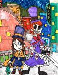 Top Hatter Duo by Millie-the-Cat7