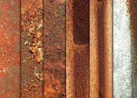 Totally Rusty Metal Textures by sdwhaven