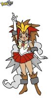 Entei Pokemon Sailor Moon by kaoshoneybun
