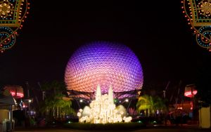 Spaceship Earth Christmas by AreteEirene