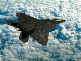 Chaos F-22 by VoughtVindicator