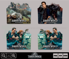 Jurassic World Fallen Kingdom (2018) Folder Pack by Bl4CKSL4YER