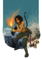 Tomb Raider 2013 contest-2nd entry by purplewurks