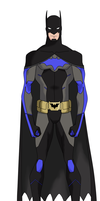 Dick Grayson Batman YJ Concept by BobbenKatzen