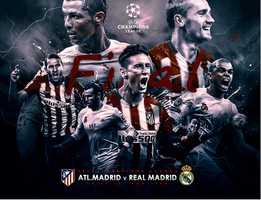 CHAMPIONS LEAGUE FINAL 2015/2016 by Achrafgfx