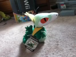 2012 US Pokemon Center Serperior Pokedoll by PokeLoveroftheWorld
