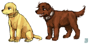 Germania and Rome dogs by emlan