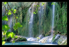 Kursunlu Waterfalls (Analog Photo) by skarzynscy