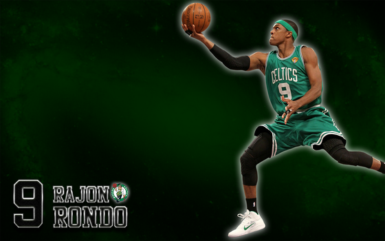 Rajon Rondo (Boston Celtics) Wallpaper by JaidynM