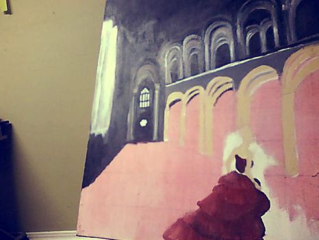 Painting in progress. by ArtisticTalents
