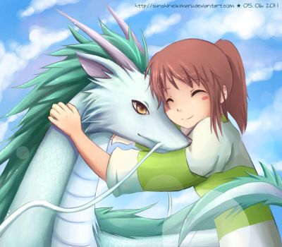 Spirited Away by sunshineikimaru