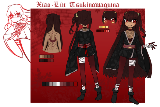 .:Xia Character Card:. by MadDuckie76105