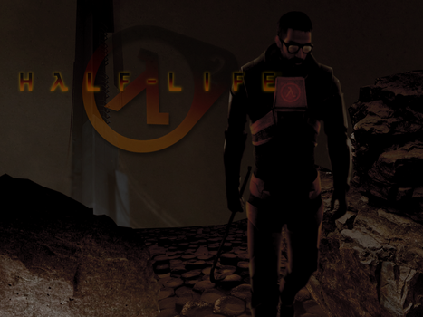 Gordon Freeman - Half-Life 2 Promo Picture by JonnyBoy0719