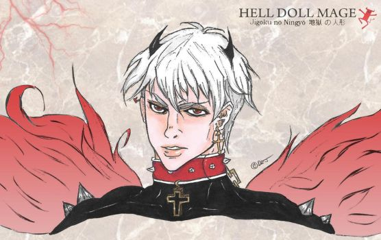 Hell Doll Mage (Set In Stone) by hELLdOLLmAgE