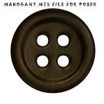 Mahogany Material for Poser by DemoncherryStock