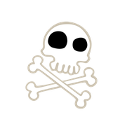 Cutie Mark - Skull and Crossbones by Durpy