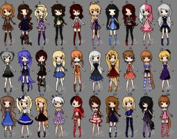 30 Adopts CLOSED by Musicallychalanged