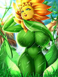 April Showers [Sunflower ~ Conker's Bad Fur Day] by DeadPhoenX