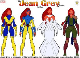 Jean Grey Series: Part Four by SavageMouse