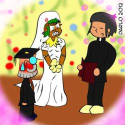 The Wedding by darlosworld