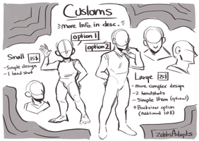 Custom Characters [Closed] by ZebbsAdopts