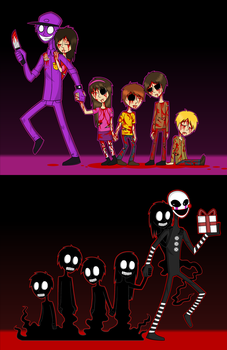 Purple Guy / The Puppet by DaniDrama