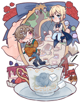 .:CE:. Afternoon tea time by hiimtae