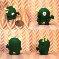 Camphor the Timid Monster by TimidMonsters