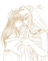 Inuyasha-Together... by Re-yume