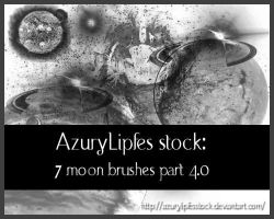 Moonbrushes part 4 by AzurylipfesStock